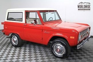 1976 Ford Bronco 4x4. Restored. Uncut. Immaculate!