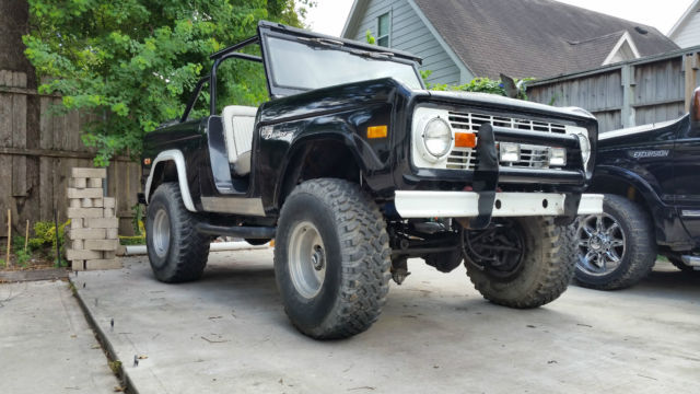 1976 Ford Bronco 4x4 Sport