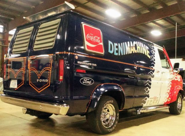 1976 Ford E-Series Van Customized