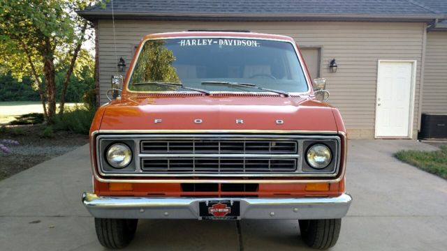 1976 Ford E-Series Van Chateau