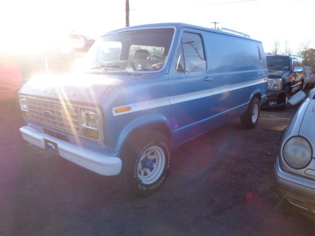 1976 Ford Econoline Van for sale: photos, technical