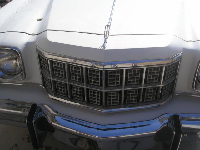1976 Ford Elite (like a Gran Torino GT) Hardtop 2-Door V-8 ...