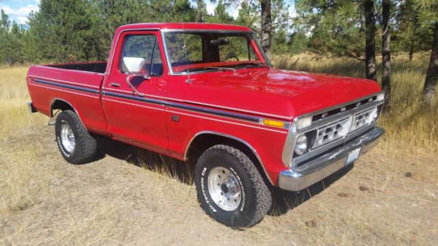 1976 Ford F-150 ranger f-150 short box 4x4 1976 no reserve