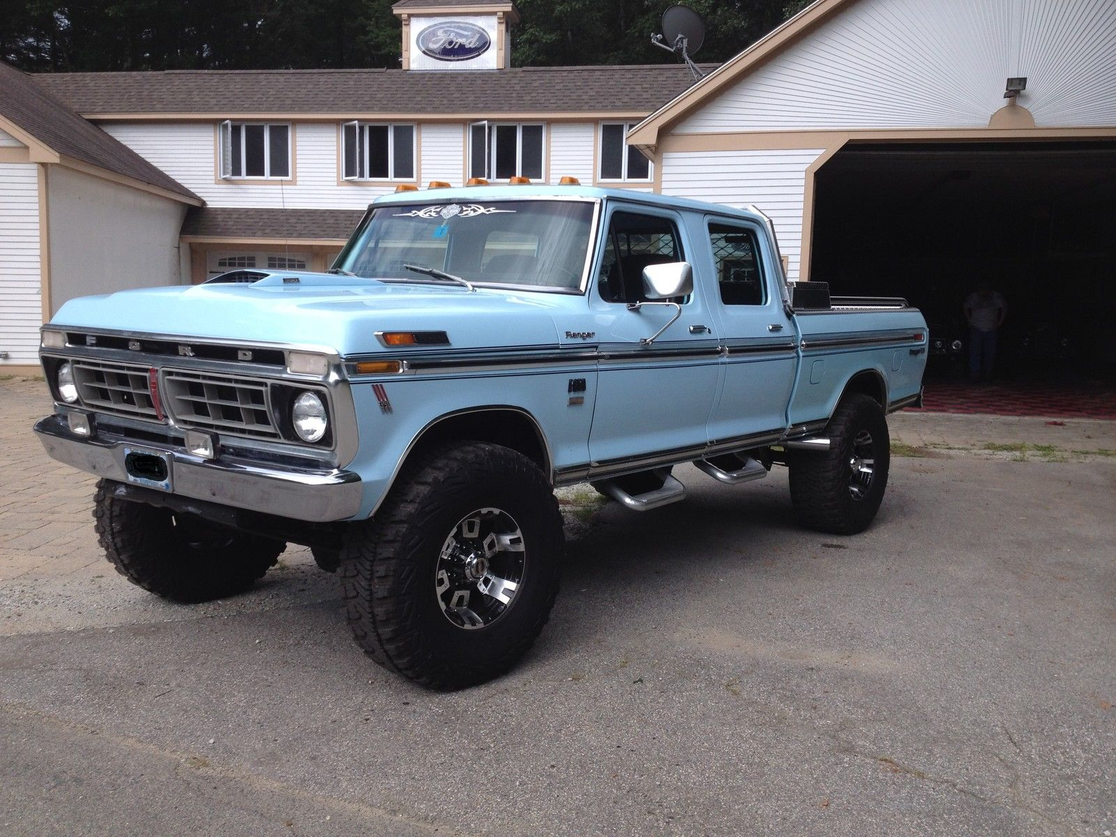 1976 ford f 250 crewcab for sale photos technical specifications description. Black Bedroom Furniture Sets. Home Design Ideas