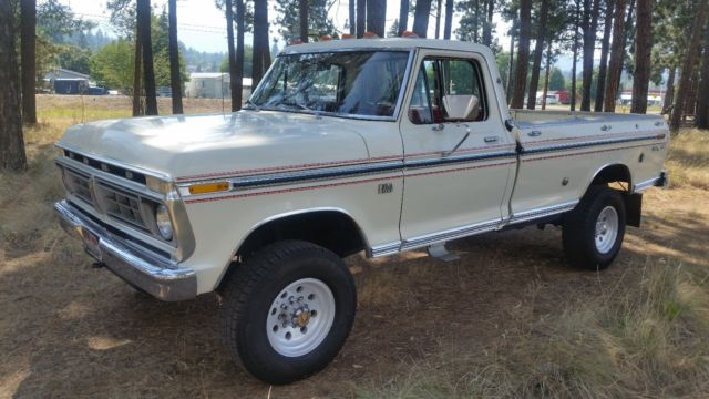1976 Ford F-250 f250 xlt highboy f 250 no reserve 1976 low miles