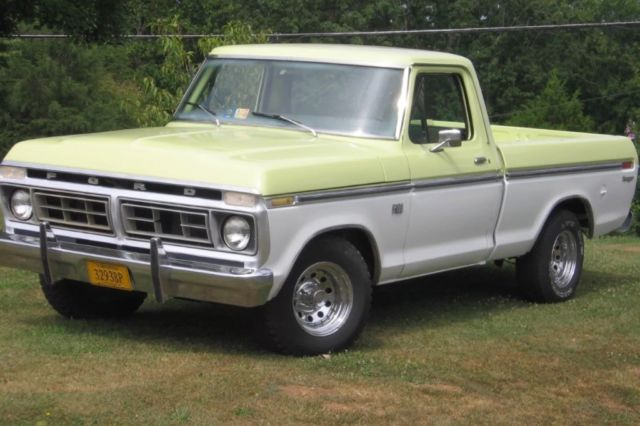 1976 Ford F-100 Pickup short bed