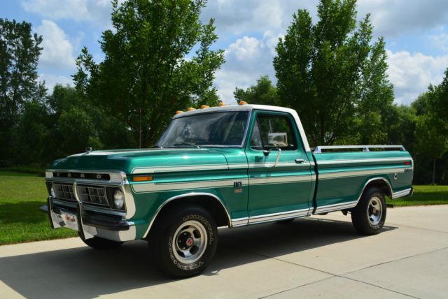 1976 ford f150 explorer trailer special 360 v8 auto 85 000 actual miles for sale photos
