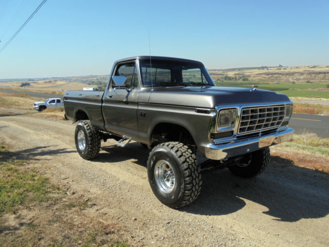 1976 ford f150 short bed box show truck 390 c6 a c lift 35 39 s swb 4x4 for sale photos technical. Black Bedroom Furniture Sets. Home Design Ideas