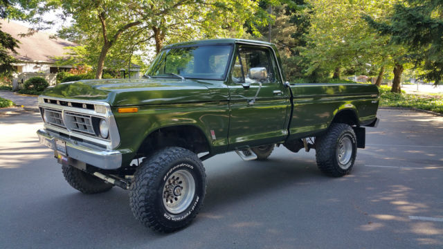 1976 ford f250 4x4 highboy 390v8 dana 60 39 s for sale photos technical specifications description. Black Bedroom Furniture Sets. Home Design Ideas
