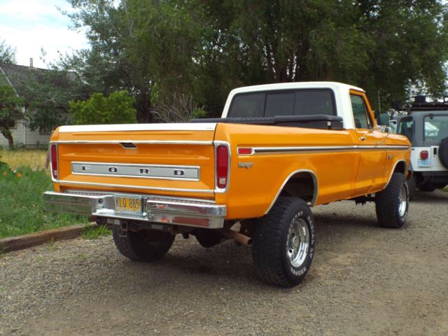 1976 ford f250 4x4 pickup one owner for sale photos technical specifications description. Black Bedroom Furniture Sets. Home Design Ideas