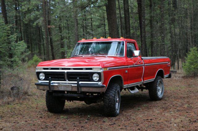 1976 Ford F250 Highboy Hiboy Classic Truck For Sale Photos