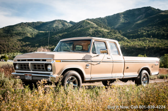 1976 Ford F-250 1976 F250 Ranger XLT ALL ORIGINAL NEW REBUILT 390