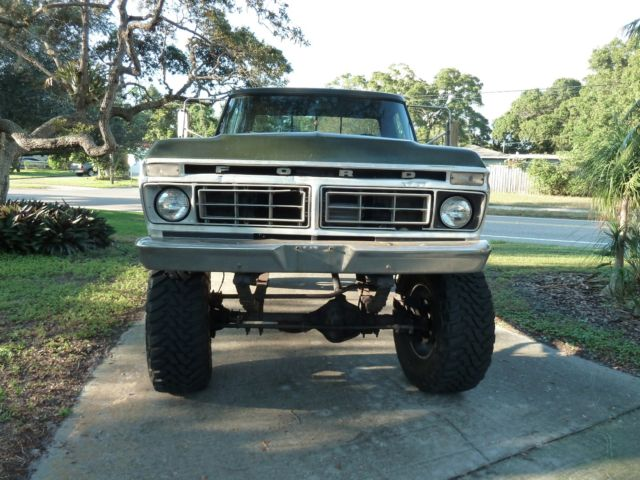 1976 ford f250 350 high boy for sale photos technical specifications description. Black Bedroom Furniture Sets. Home Design Ideas