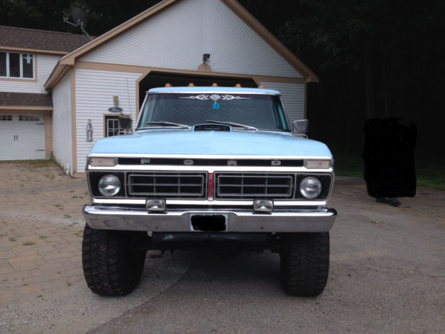 1976 Ford F350 F250 Shortbed Crewcab Pickup For Sale
