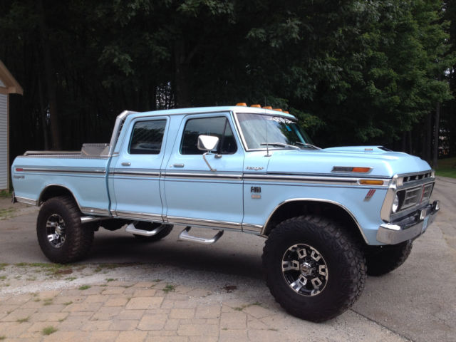 1976 ford f350 f250 shortbed crewcab pickup for sale photos technical specifications description. Black Bedroom Furniture Sets. Home Design Ideas