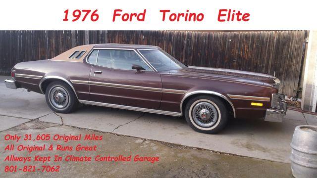 Ford Torino Elite  V Autotrans Only  Miles