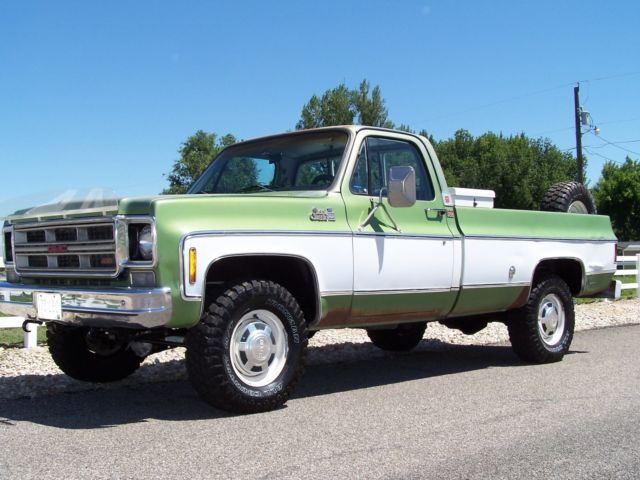 1976 Gmc K20 Chevy 4x4 Original Condition Low Miles 1 Owner 3  4 Ton Ac Cab For Sale  Photos