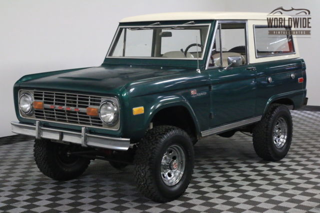 1976 Ford Bronco RESTORED WITH ORIGINAL PAINT UNCUT PS PB