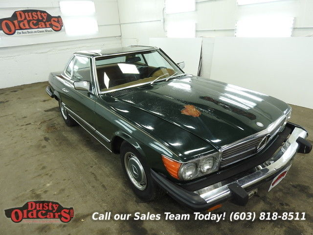 1976 Mercedes-Benz SL-Class Runs Drives Needs Seats 4.5LV8 Bdy Good