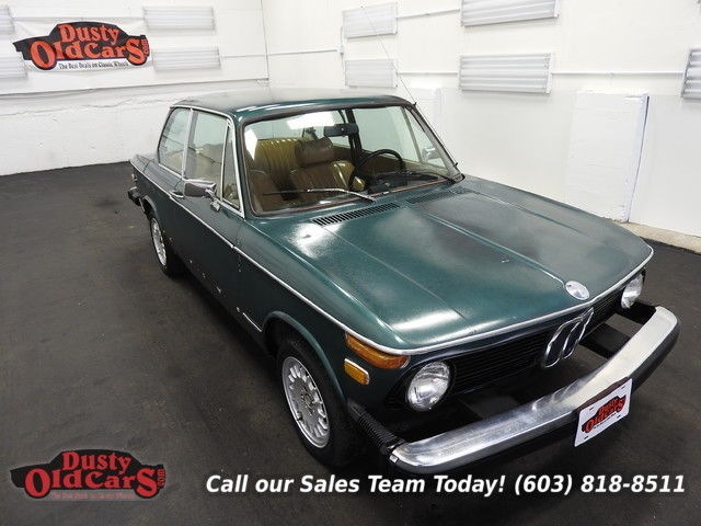 1976 BMW 2002 Yard Drives Great Parts Car or Fix 2L I4 4 speed