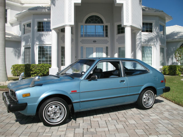 1976 Honda Accord CVCC, 1st Year (Civic, Prelude, V-Tec)