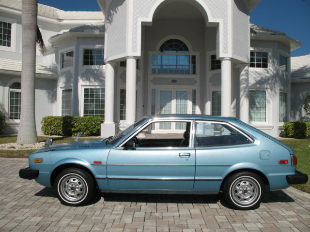 1976 honda accord cvcc 1st year 1 family owned low miles for Best honda accord year