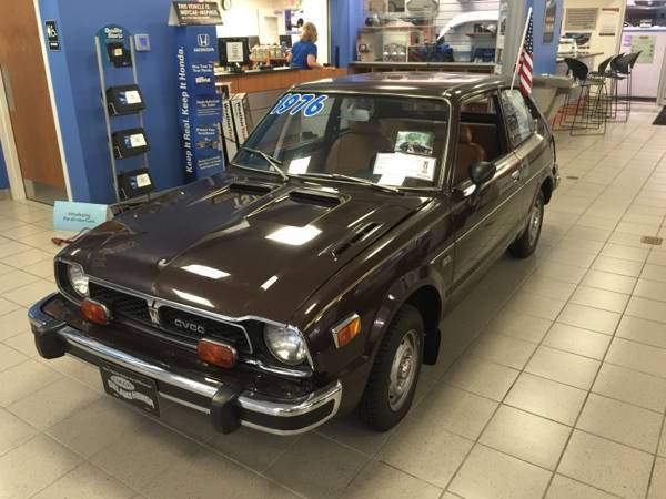 1976 Honda Cvcc showroom civic antique classic for sale ...