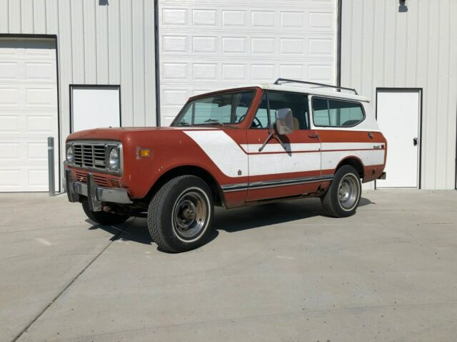 1976 International Harvester Scout Rallye Edition