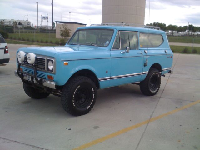 1976 International Harvester Scout Base Sport Utility 2-Door