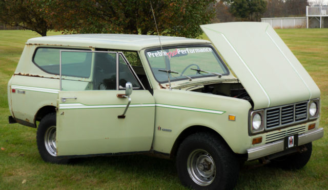 1976 International Harvester Scout 4X4