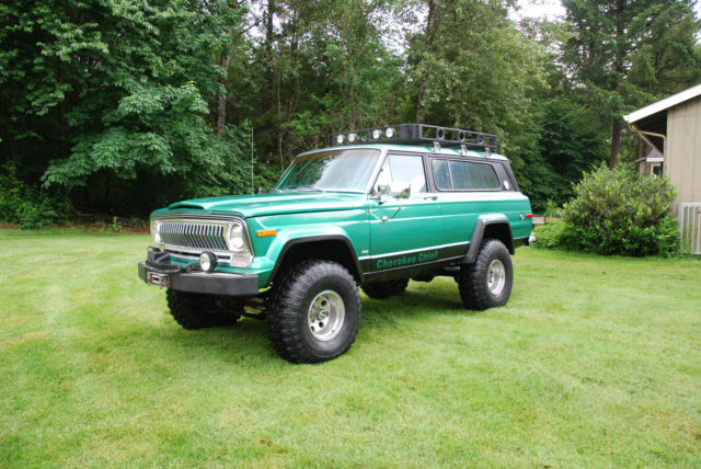 1976 Jeep Cherokee Cherokee Chief Sport Wide Trade rebuilt lifted 4x4