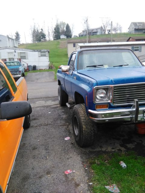 1976 Chevrolet Silverado 1500 6 in lift 35in tires