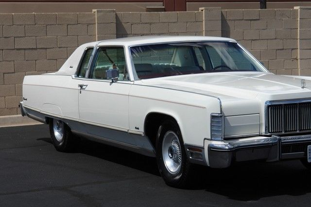 1976 Lincoln Continental Cartier Coupe