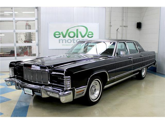 1976 Lincoln Continental Town Car For Sale Photos Technical