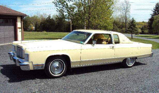1976 Lincoln Continental Town Coupe Only 9 808 Miles From New Mint