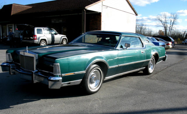 1976 Lincoln Mark IV, Jade & Green Luxury Group