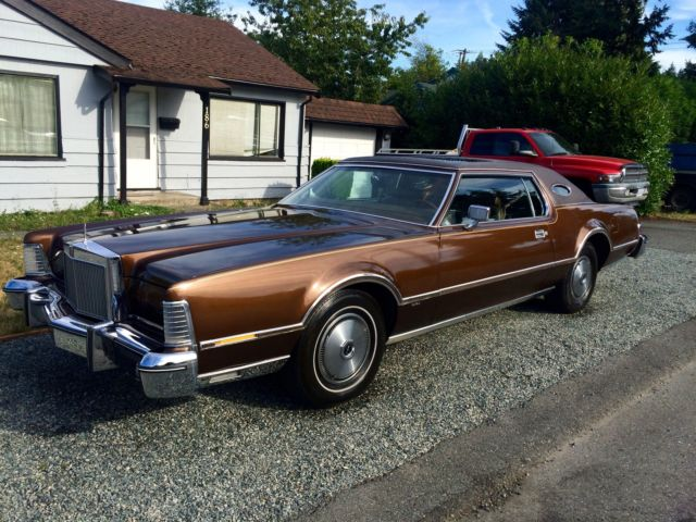 1976 Lincoln Mark Series