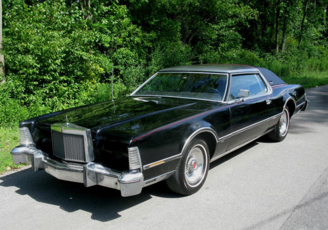 1976 Lincoln Mark IV Silhouette Edition