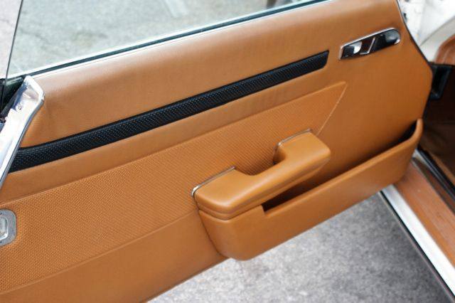 1976 White Mercedes-Benz SL-Class SL Convertible with Tan interior