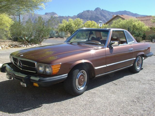 1976 mercedes benz 450sl hard top roadster in arizona no for 1976 mercedes benz 450sl for sale