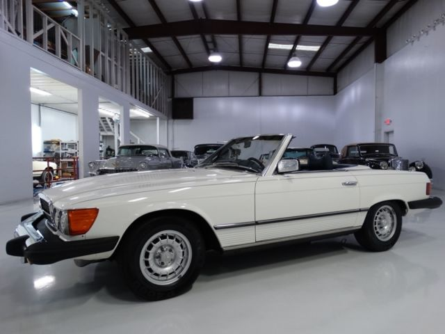 1976 Mercedes-Benz SL-Class ONLY 65,300 ACTUAL MILES! FACTORY A/C! BOTH TOPS!