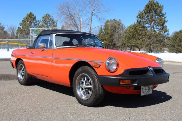 1977 MG MGB Mark VI