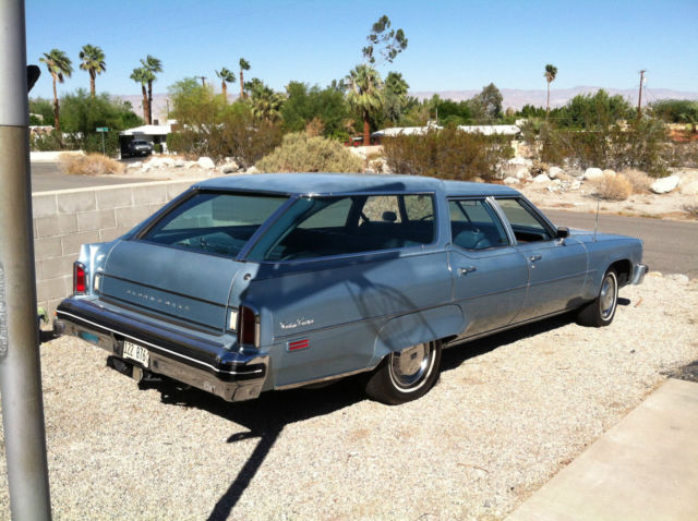 1976 Oldsmobile Custom Cruiser ZERO RUST on this wood delete wagon