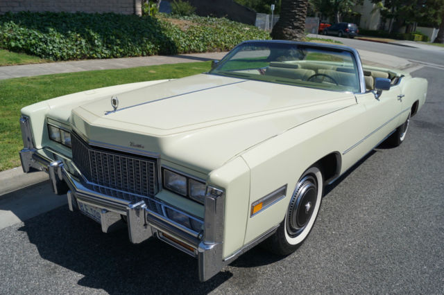 1976 Cadillac Eldorado FUEL INJECTION CONVERTIBLE WITH 16K MILES!