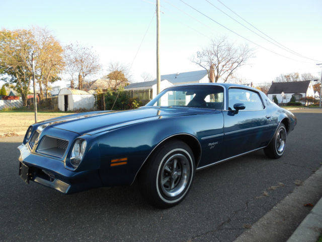 1976 Pontiac Firebird Esprit 1owner 18 309 Original