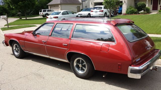 1976 pontiac grand lemans safari wagon for sale photos. Black Bedroom Furniture Sets. Home Design Ideas