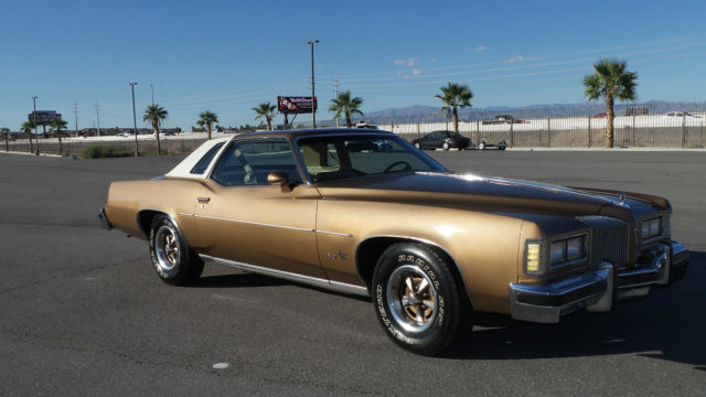 1976 Pontiac Grand Prix RARE MUSCLE ORIGINAL RUNS PERFECT COLD A/C