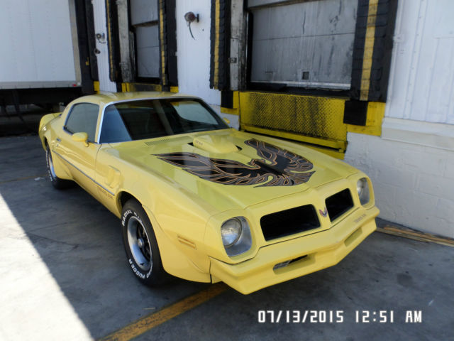 1976 Pontiac Trans Am Firebird