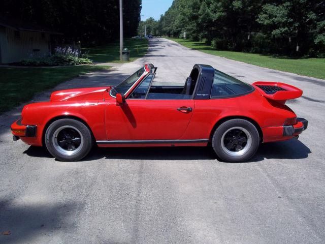 1976 Porsche 911 Targa Under 69 500 Miles Whale Tail For Sale Photos Technical