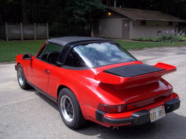 1976 Porsche 911 Targa Under 69 500 Miles Whale Tail